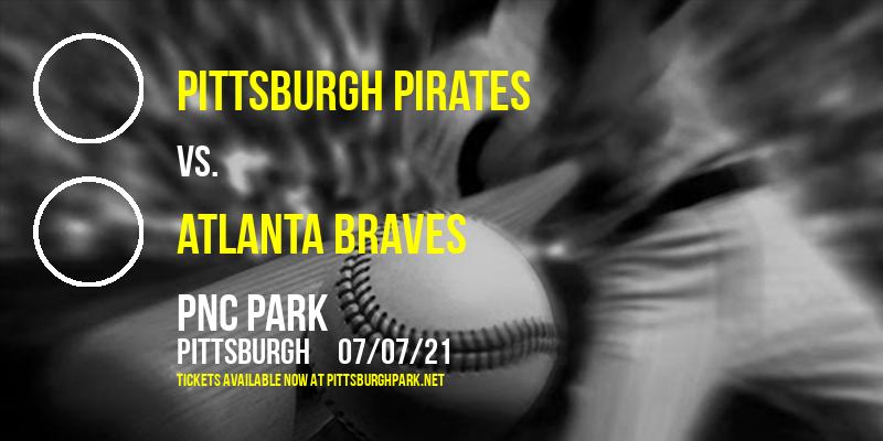 Pittsburgh Pirates vs. Atlanta Braves at PNC Park