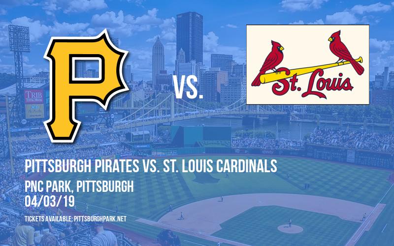 Pittsburgh Pirates vs. St. Louis Cardinals at PNC Park