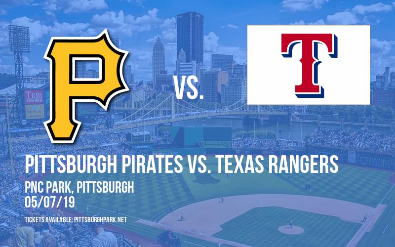 Pittsburgh Pirates vs. Texas Rangers at PNC Park
