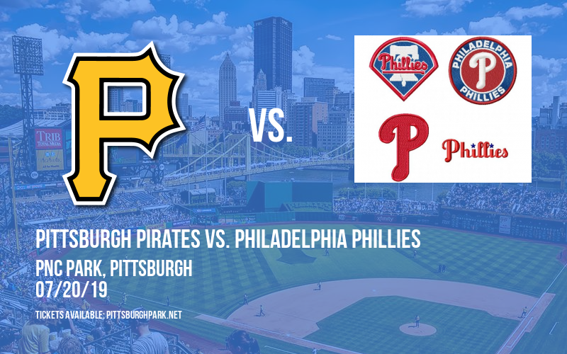 Pittsburgh Pirates vs. Philadelphia Phillies at PNC Park