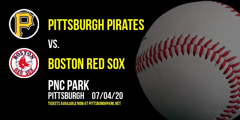 Pittsburgh Pirates vs. Boston Red Sox at PNC Park