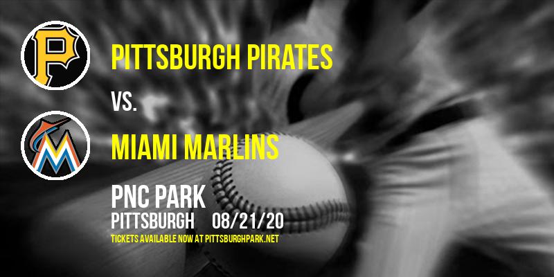 Pittsburgh Pirates vs. Miami Marlins at PNC Park