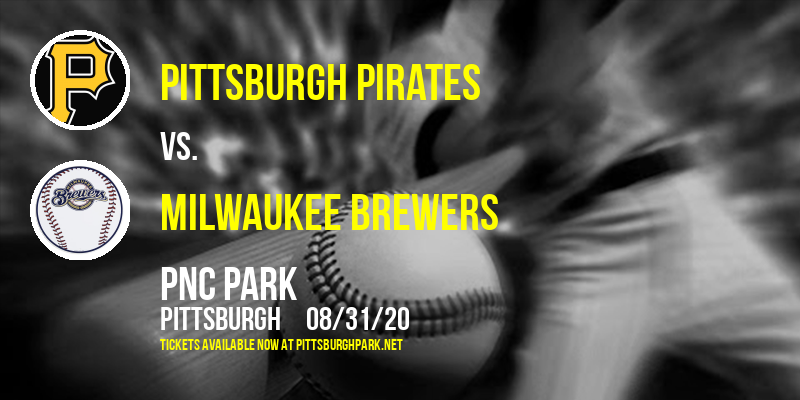 Pittsburgh Pirates vs. Milwaukee Brewers at PNC Park