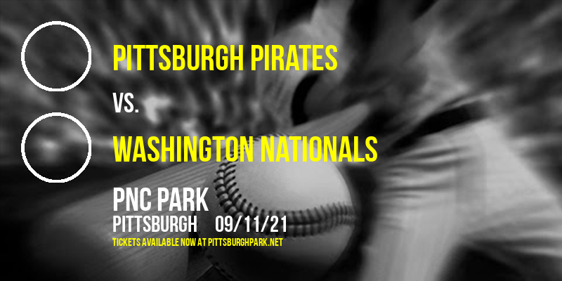 Pittsburgh Pirates vs. Washington Nationals [CANCELLED] at PNC Park