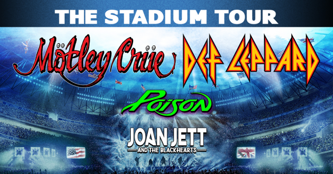 The Stadium Tour: Motley Crue, Def Leppard, Poison & Joan Jett and The Blackhearts at PNC Park